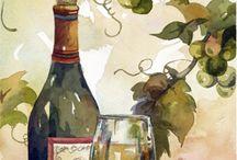 Vin, druer