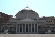 Basílica de San Francisco de Padua. 1819. Nápoles. Italia.