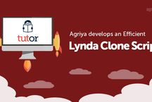 Agriya Tutor - Lynda Clone Script / Make a lucrative online video tutorial platform with our Lynda clone script. The online tutoring software embeds your website with all cutting-edge features