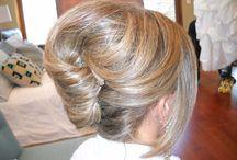 Mother of groom/bride hair