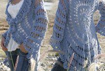 circle jacket crochet