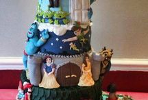 cake disney heroes