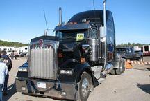 미국의 트럭들
