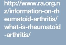 Rheumatoid Arthritis / RA.ORG.NZ provides information on rheumatoid arthritis (RA) for patients and their carers. It includes general information around RA, treatment options, tools and tips to help manage RA and a self-assessment tool for patients to track their disease over time.