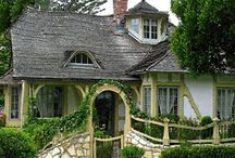 Fairytale/Storybook Houses / Images of homes constructed in Storybook architecture and other styles reminiscent of fairy tales. / by Greg LeFever