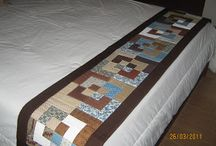 Colcha e peseiras para cama