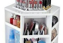 Make up storage ideas / Ideas for Make up Storage