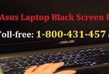 Contact 1-800-431-457 to Fix Asus Laptop Black Screen Error