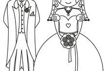 Gyerekek esküvő