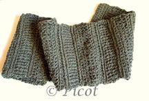 Szal szydełkowy Crochet Shawl