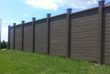 Concrete Fence / Duracrete Fence Products Inc. is the Concrete Specialists of the Roma Fence Group of Companies. In 2014 they are introducing the Rockwood Collection... Concrete Fence that looks like wood fence!