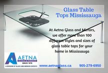 Glass Table Tops Mississauga