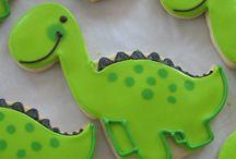 dinosaur birthday. / by Amanda Bain