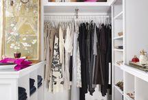Walk in closet room