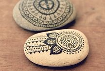 DIY - Painted rocks ^__^