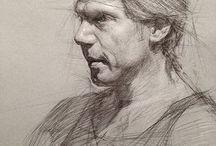 Curso de desenho-Retratos
