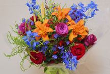 Gift Bouquets by The English Florist / I create beautiful bespoke gift bouquets to collect or send anywhere in the UK.  What better way is there to tell someone you love them, wish them a happy birthday, celebrate an anniversary, or send get well wishes?