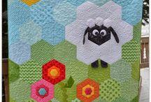 Papírsablonos patchwork