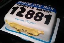 Pasteles para runners