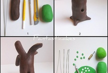 Fondant Nature - How To / Flowers, trees, fruit etc
