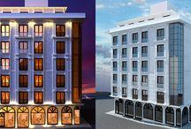 Dış Mekan Mimari Modelleme - Outdoor / 3d mimari görselleştirme
