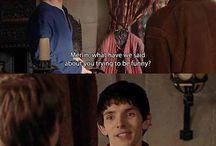 Yer a wizard, Merlin! / by Stephen Fernandez