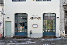 Locales:fachadas e interiores