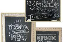 Chalkboard art / by Mallory Sue