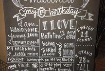 Kam's 1st birthday