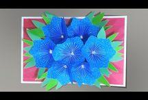 открытки 3D из бумаги