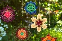Stitching, knitting, crocheting