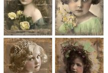 vintage plaatjes en foto's
