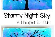 Nature Study | Winter Night Sky