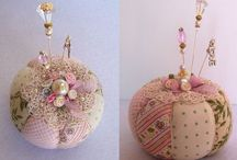 Pins and Needles / All things related to those quintessential sewing aids. Pincushions, needle keeps and pretty decorative pins