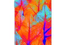 Leaf phone covers