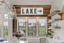 Lakehouse Makeover // Kitchen and Breakfast Nook