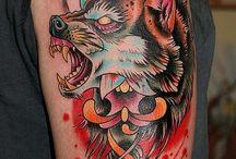 wolf tats