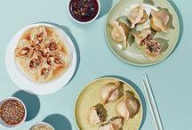 Dumplings! / Dumpling and wonton recipes of various types