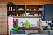 Kitchen design ideas / Your kitchen is not just the place to prepare and cook food — it's also used for entertaining guests, storing gadgets and eating family meals!