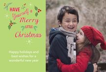 Merry Christmas Cards / a collection of Christmas Cards designed front and back for Snapfish / by Two Branching Out