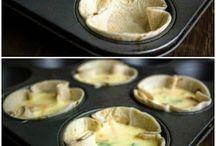 Cupcake quiches
