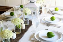 Wedding flowers, tablescapes...
