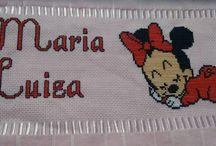 Toalha Minnie e Mickey