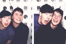 Dan and Phil!