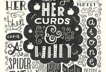 Lettering / Typographic