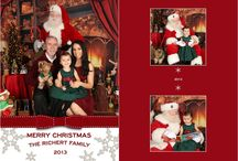 Client Christmas Cards / Samples of some of our clients Christmas Cards. We have hundreds of samples in our studio and we work with designers to help create many one of a kind cards. / by Ana Brandt Photography