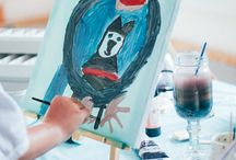 Using Art Therapy with Children / Kids love to create, and sometimes it is the only way they can verbalize their feelings.