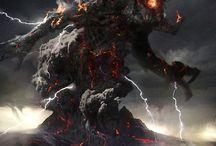 fantasy deities & demigods