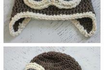 Tığ desenleri şapka atkı