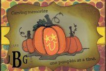 Texana Designs Fall Cards / by Texana Designs - Jimmye Sue Mitchell